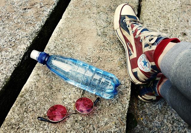 胡蝶蘭 ペットボトル